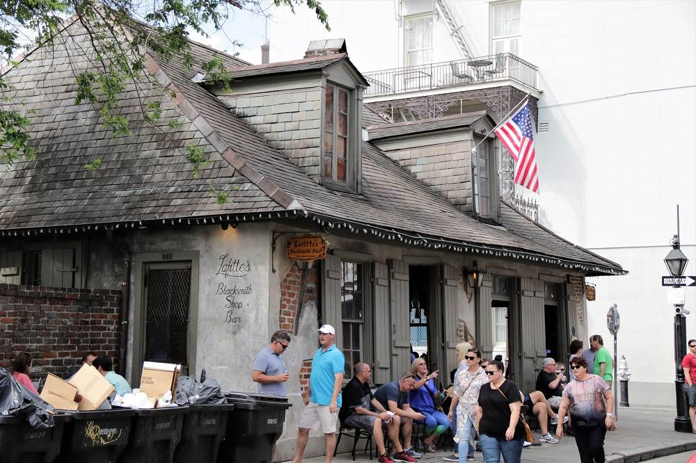 Lafitte's Blacksmith Bar New Orleans