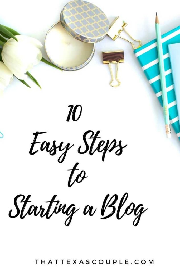 Are you considering starting a blog? Then let us help you. We have outlined 10 easy steps to get your blog up and going today! blogging basics| how to blog| blogging beginners| blog post idea| blog topics| blogging tips|blogging ideas