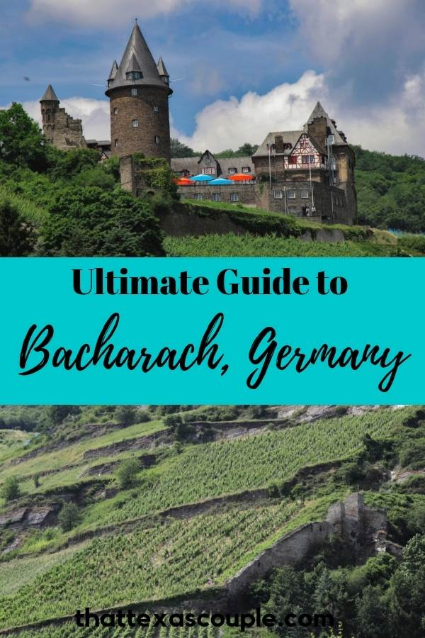 Bacharach, Germany is a quintessential German fairy tale town. This post outlines what to see, where to stay and eat, and what to do while visiting this UNESCO World Heritage area of the Rhine River. #bacharach #germany #rhinevalley #germancastles #rhineriver #bacharachgermany #visitgermany