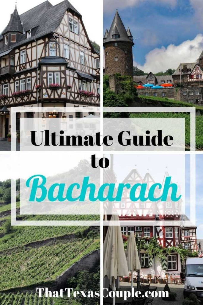 Planning a trip to Germany? Then you should include the fairy tale town of Bacharach. We've outlined exactly what to do, where to stay, and where to eat here in this post. #germany #bacharach #rhinevalley #rhineriver #traveltips