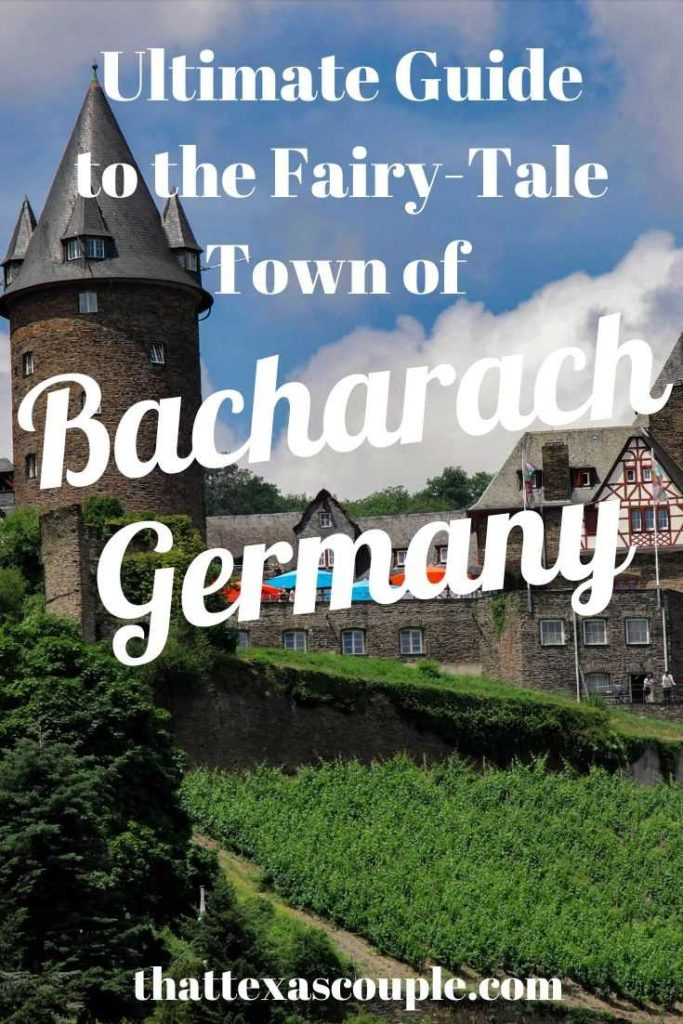 No trip to Germany is complete without a visit to the Romantic Rhine and specifically Bacharach. We've outlined everything you need to know about this fairy tale town. #bacharach #germany #traveltips #europe