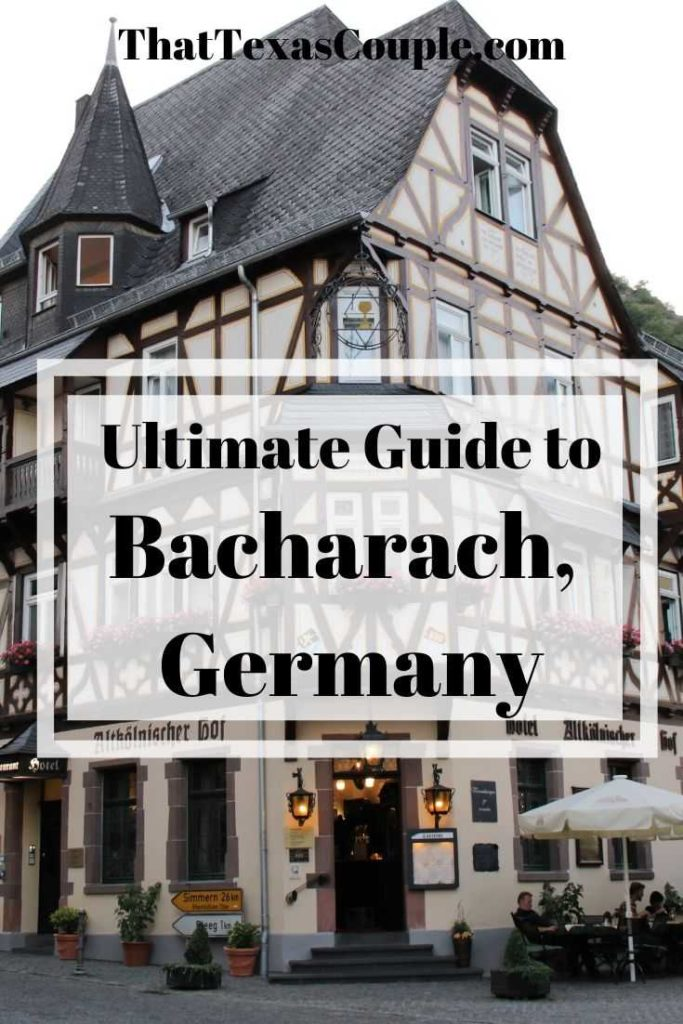 If you're planning a visit to Germany then you should absolutely include Bacharach. Here we have outlined all of the great things to do, see, and eat in Bacharach. #germany #bacharach #traveltips #bavaria #rhineriver #rhinevalley
