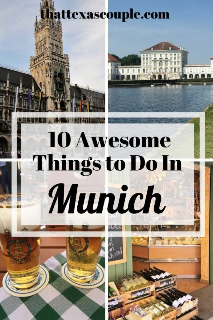 If you're looking for things to do in Munich, then you need to read this post. We have you covered with the top 10 things to do in Munich. #germany #germanytravel #oktoberfest #munich #munichtravel #traveltips