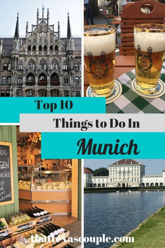 If you're planning a trip to Munich then you need this post . Munich is full of things to do and we have outlined our top 10 things to do in Munich here for you. From biergartens to museusms, this has you covered! #munich #germany #travelitinerary #traveltips #europe