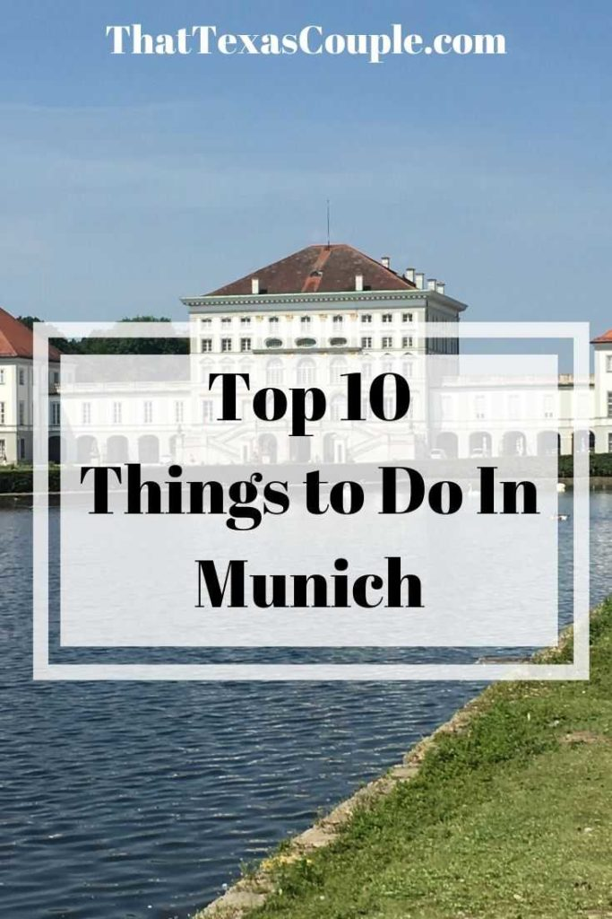 Are you planning a trip to Munich? Then you need this list of the top 10 Things to do in Munich. We have you covered from great tours to awesome sights. #munich #germany #traveltips #europe #germanytravel #oktoberfest