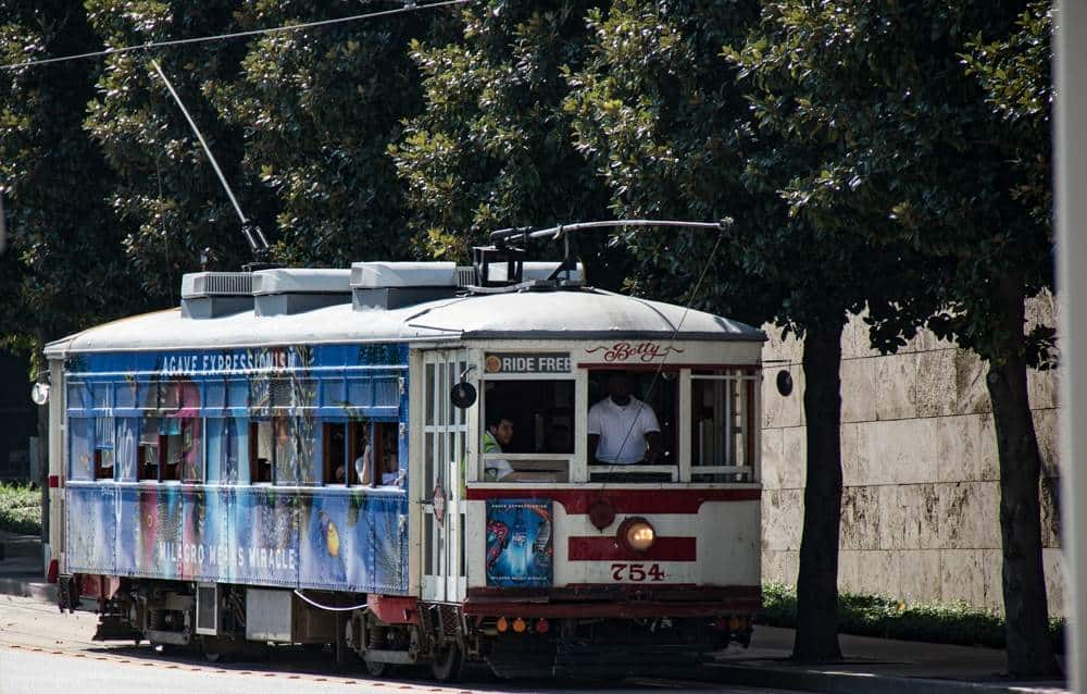 McKinney Ave Trolley is a free thing to do in Dallas