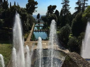 If you're in Rome, then make Tivoli your escape from the city. Tivoli is an easy day trip from Rome and is home to historic ruins and the UNESCO World Heritage gardens at Villa d'Este. This post tells you how to get there and make the most of your day! #tivoli #daytripfromrome #romeitaly #italy #villadeste