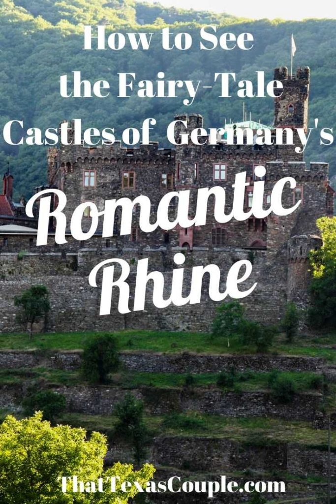 The castles of the Rhine are a must see while visiting Germany and this post will help you do just that. We show the small towns as well as the historic castles of this region in this post. #castles #germany #europe #traveltips #europeantravel #rhineriver #rhinevalley #UNESCO #couplestravel #history