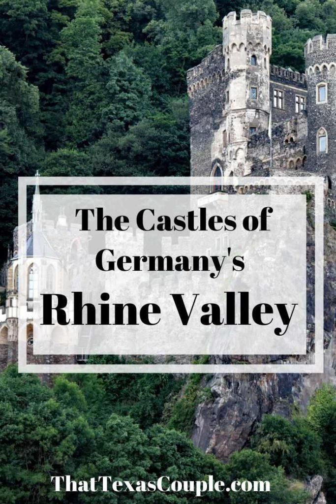 Are you heading to the Romantic Rhine? Then you will definitely want to explore the castles of the Rhine. In this post we show you several of the gorgeous castles and the small towns of this region. #castles #germany #rhinevalley #romanticrhine #europeantravel #couplestravel #rhineriver