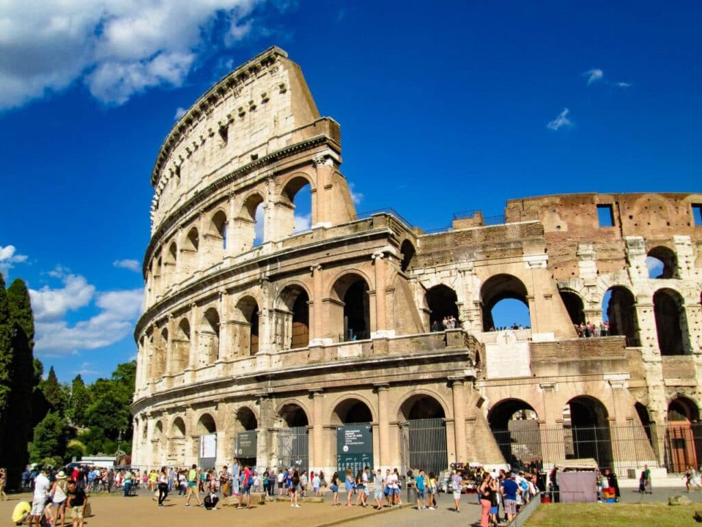 The Colosseum in Rome has to be part of your 10 day Italy Itinerary