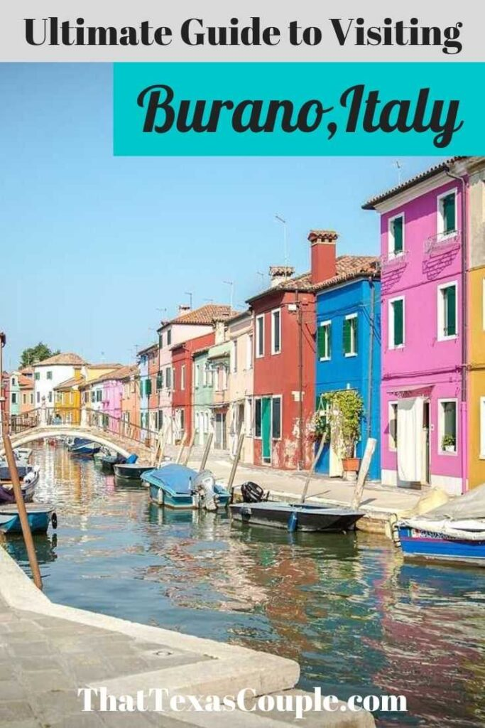 Planning a trip to Venice? Then you should definitely include the colorful town of Burano into your itinerary. We've outline the how to get to Burano and what to see once you're there. Burano|How to get to Burano|Things to do in Venice|Venice Itinerary| Burano| Things to do in Italy|What to do in Venice|Venice travel tips|Italy travel tips