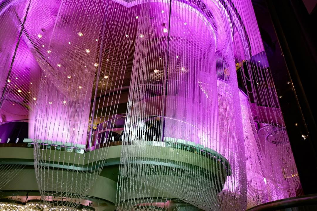 Chandelier Bar is a very romantic thing to do in Las Vegas