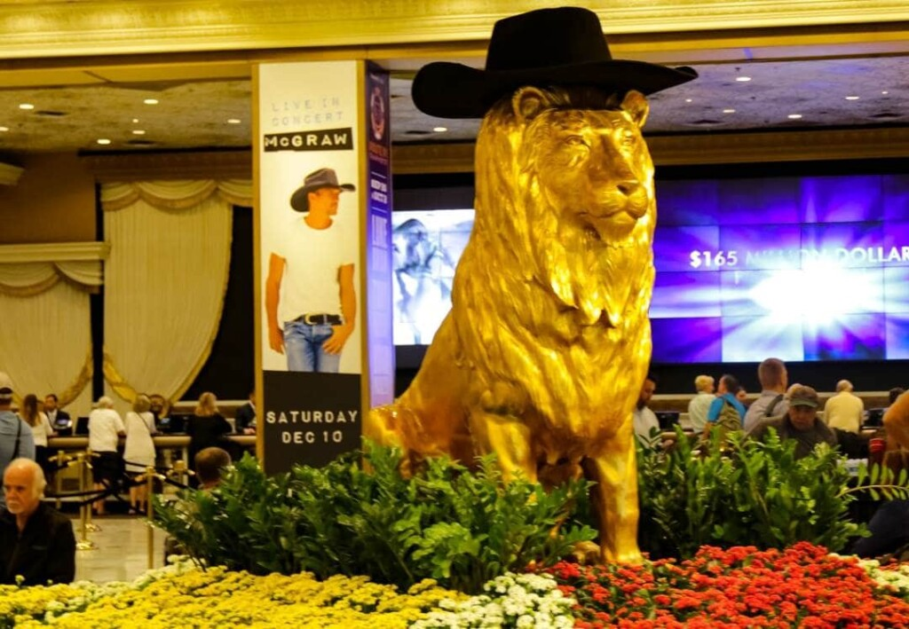 MGM Grand is a romantic hotel in Las Vegas