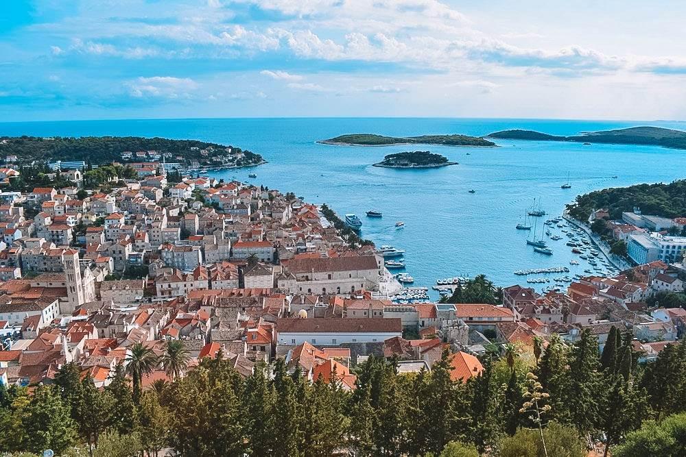 View of Hvar Harbour