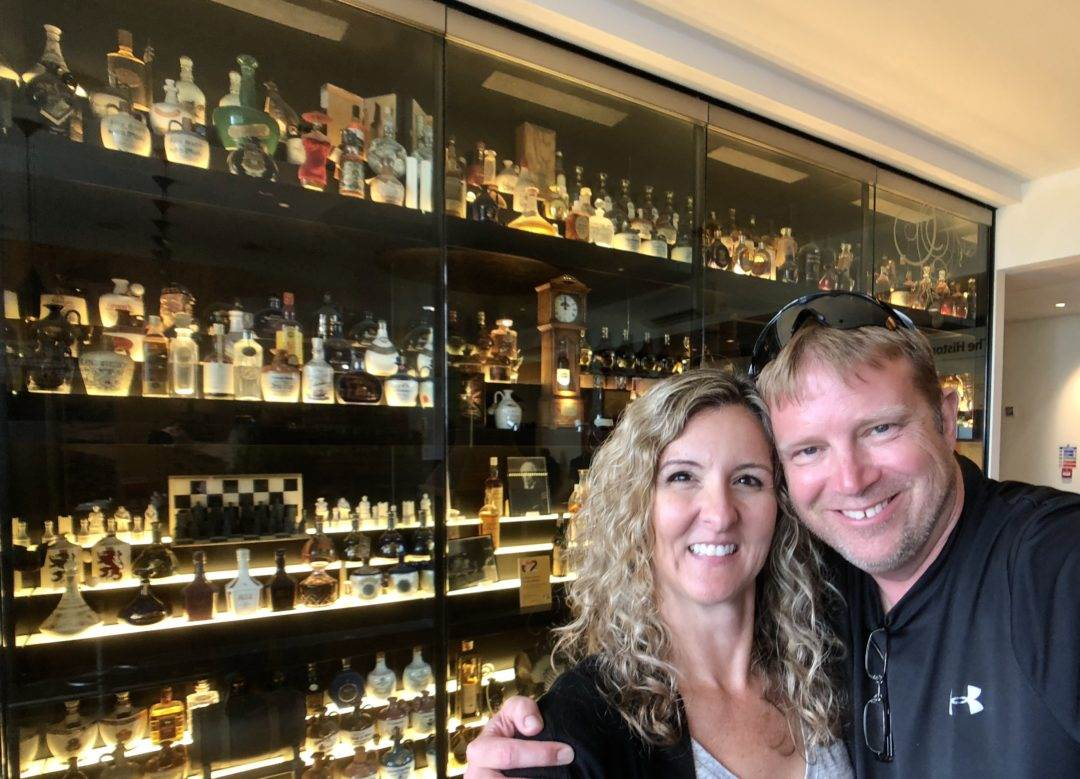 That Texas Couple at the Scotch Whisky Exp