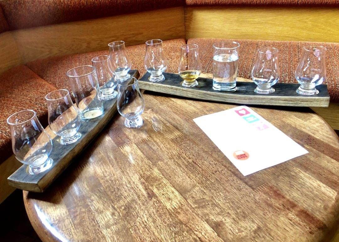Tasting at the Scotch Whisky Experience_Edinburgh