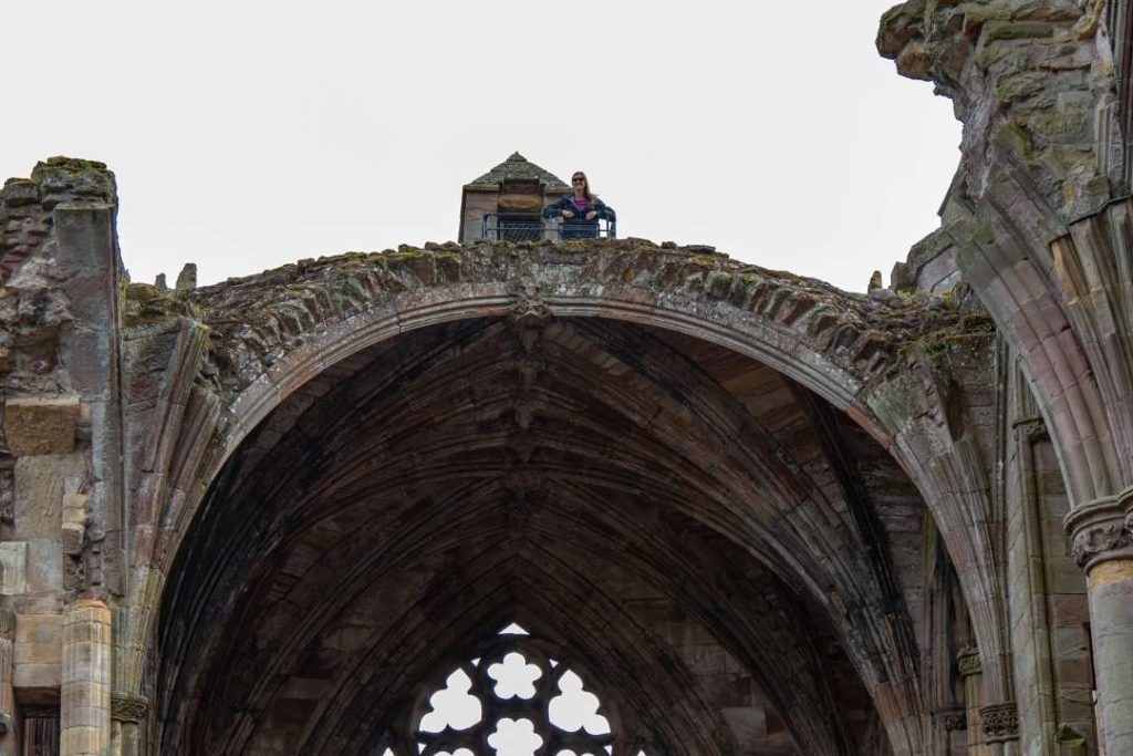Melrose Abbey has to be one of the abbeys in Scotland that you visit