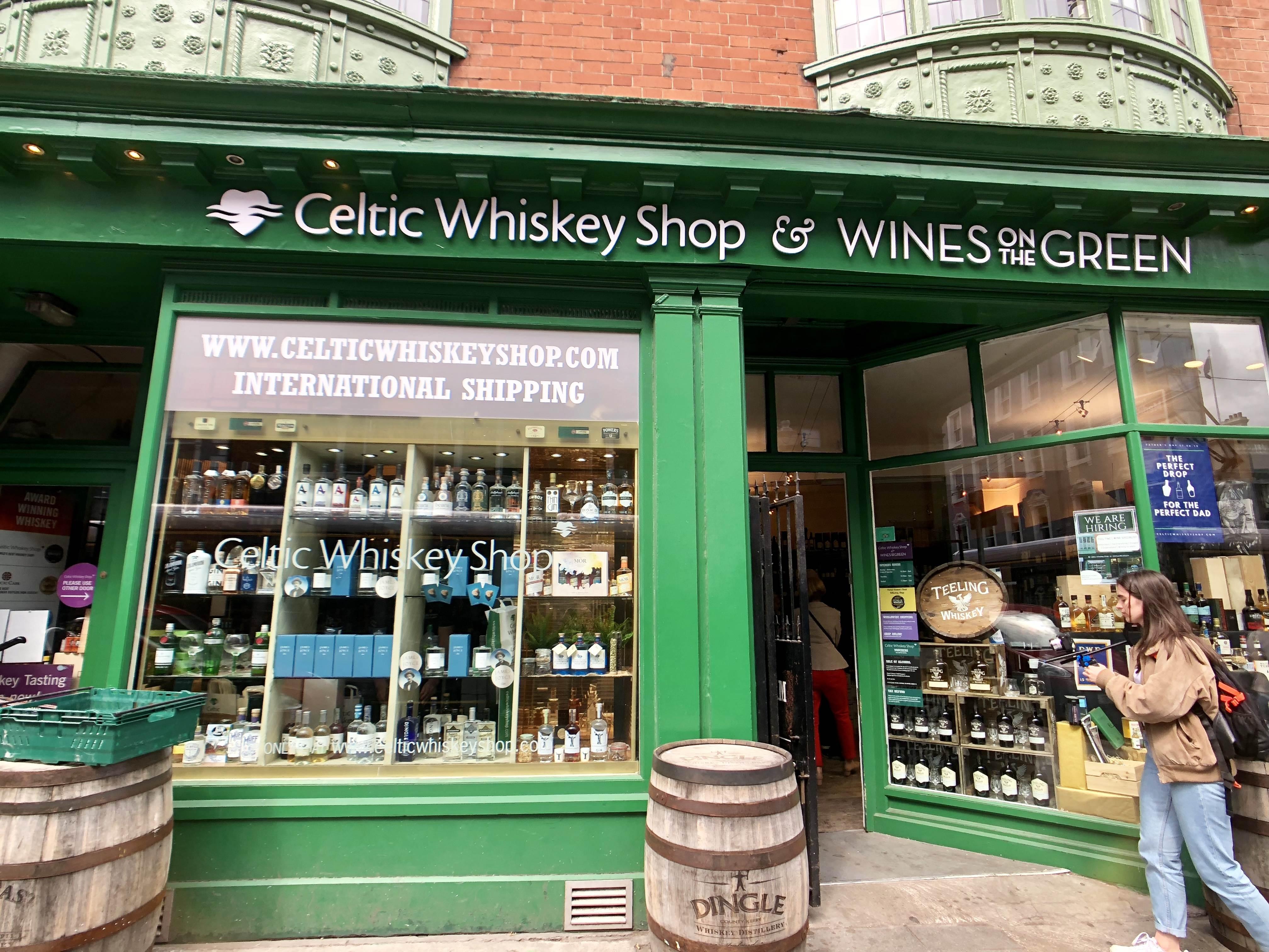 Celtic Whiskey Shop Dublin
