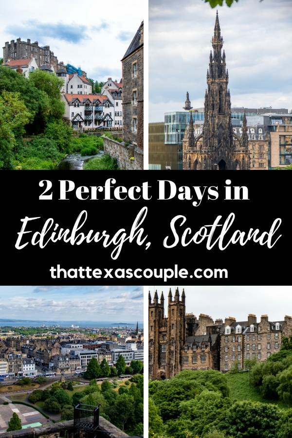 2 days in Edinburgh is the perfect amount of time to see this historic city. This post outlines what to see, eat, and do in order to get the most out of your time in Edinburgh, Scotland. #edinburgh #scotland #edinburghitinerary #scotlanditinerary