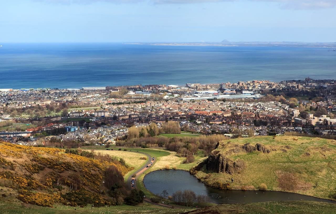 2 days in Edinburgh-Arthur's seat