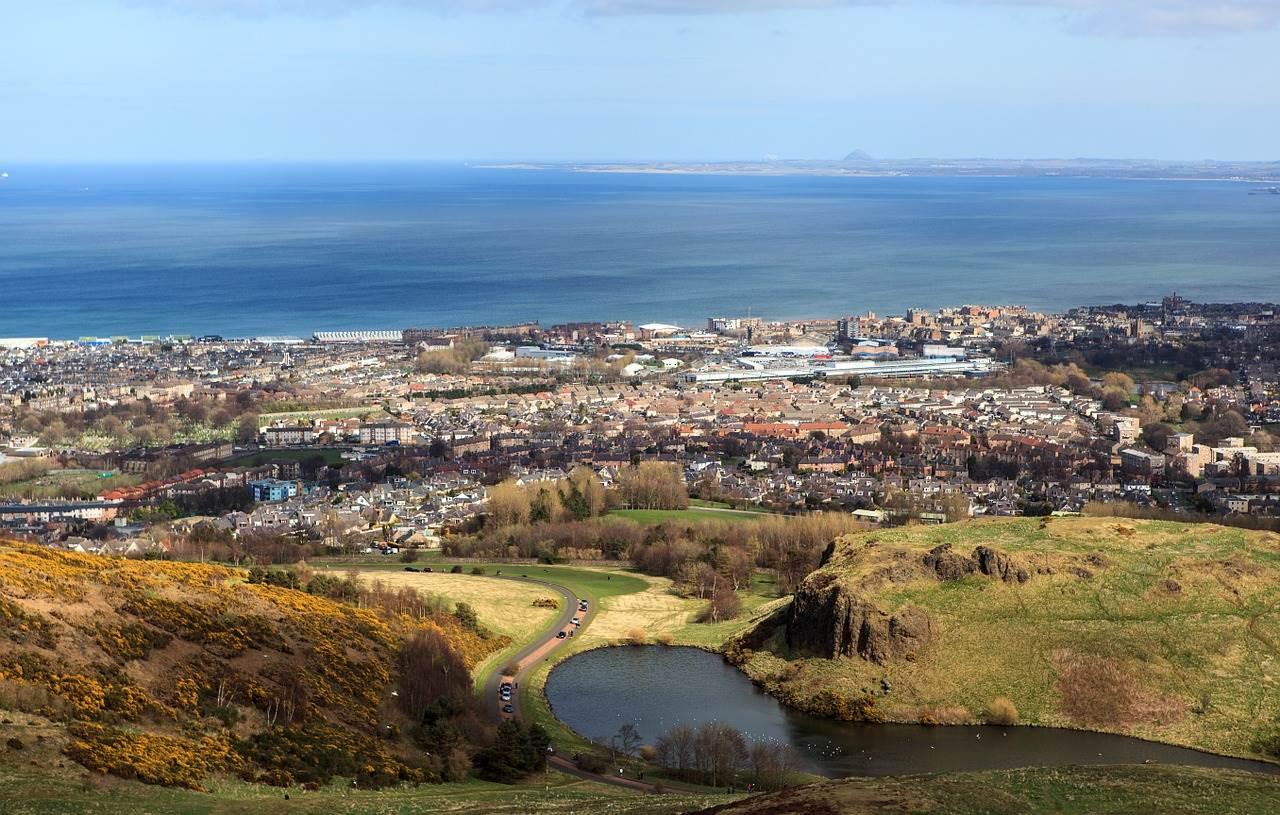 2 days in Edinburgh-Arthur's seat
