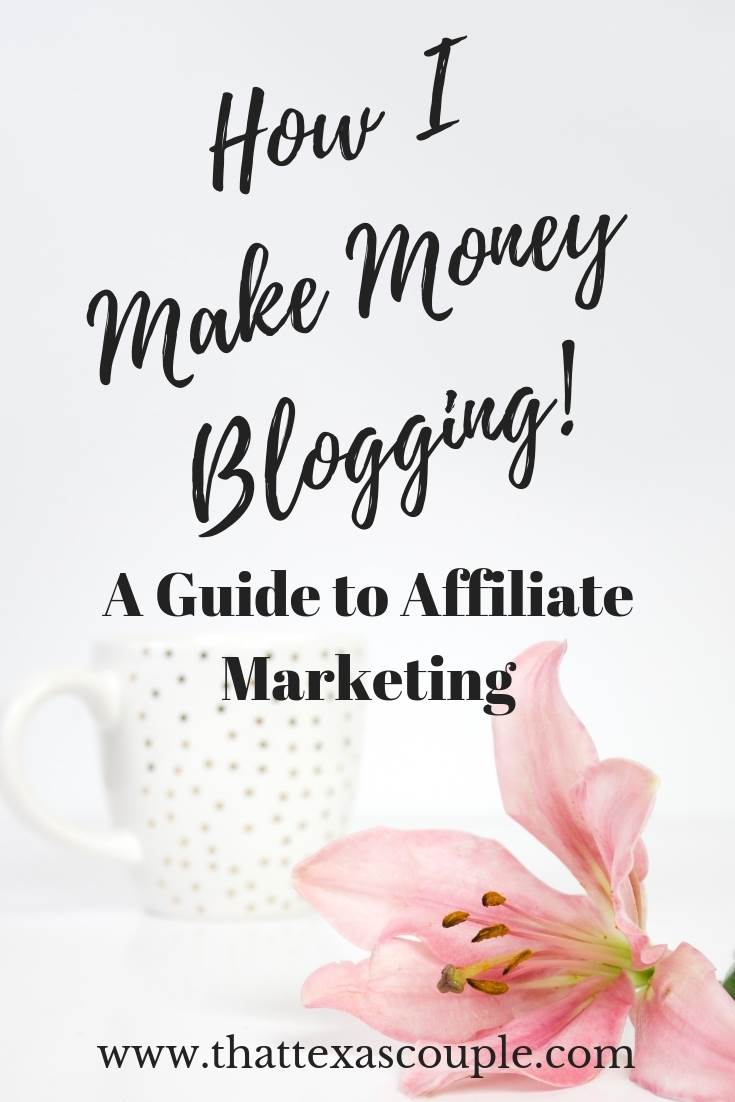 So, you're ready to make money off of your blog? Well, you've come to the right place! This post outlines what you need to do to get started with affiliate marketing. #affiliatemarketing #bloggingforbeginners #blogging #affiliatemarketingforbeginners #affiliatemarketingforbloggers