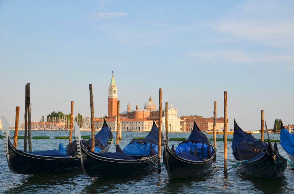 Venice gondolas- this should be on your couples bucket list