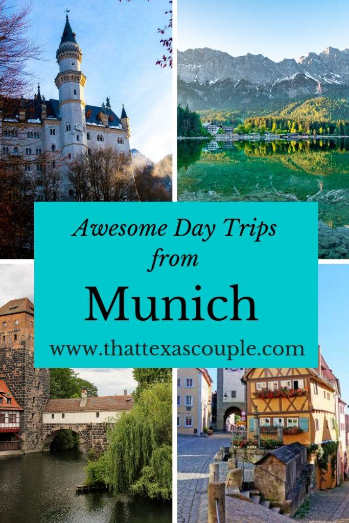 If you're headed to Munich then you have to check out this list of Munich day trips. We have everything from beautiful lakes, to fairy-tale castles. #munich #germany #europe #daytripsfrommunich #travel #couplestravel