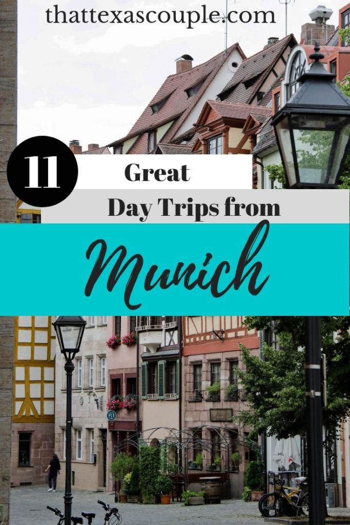 If you're planning a trip to Munich, then you have to check out this list of Munich day trips. We have included beautiful castles, charming towns, and gorgeous countrysides that are easily accessible from Munich. #munich #europe #germany #daytripsfrommunich #couplestravel #traveltips