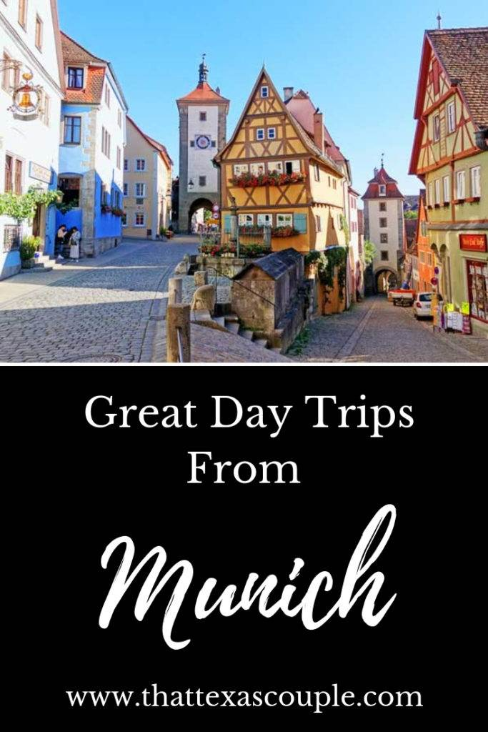 Headed to Munich soon?  Then you have to leave yourself enough time to take some fabulous day trips.  Check out this post for several great options.  #munich #daytrips #germany #traveltips #europe