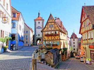 Rothenburg ob der Tauber is one of great day trips from Munich