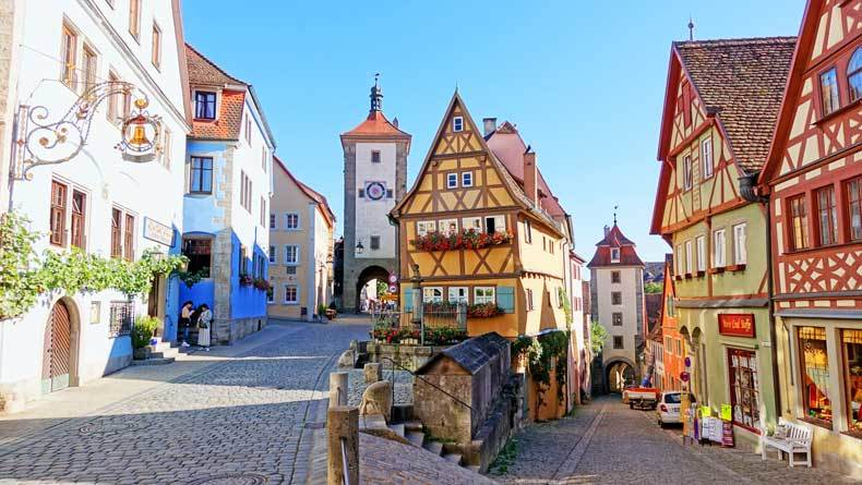 Rothenburg ob der Tauber is a great day trip from Munich