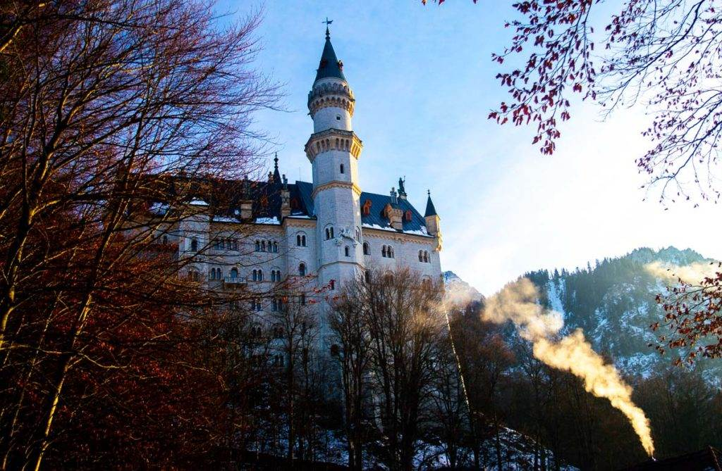 Neuschwanstein Castle is an easy day trip from Munich