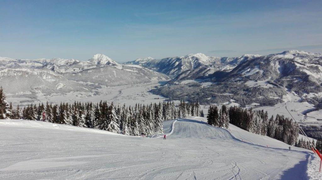 St. Johann ski resort a great day trip from Munich
