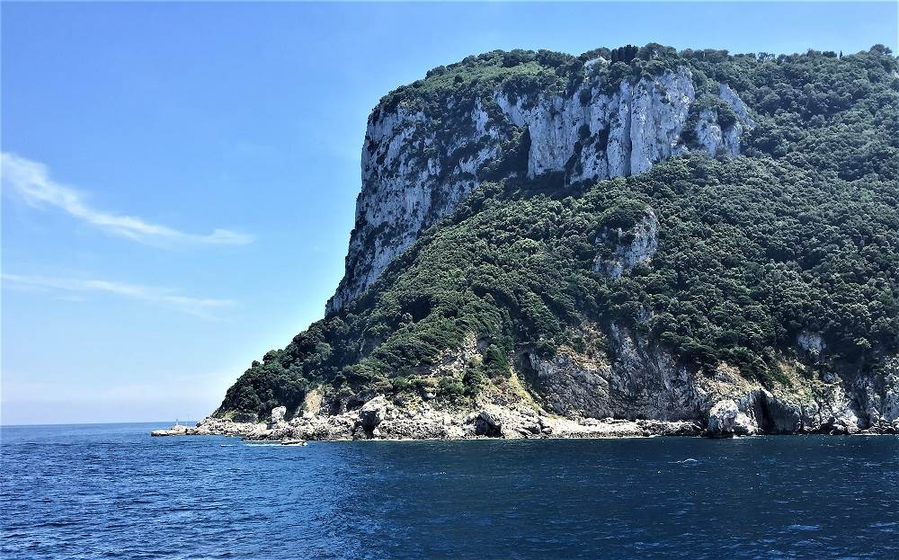 Naples to Capri Ferry