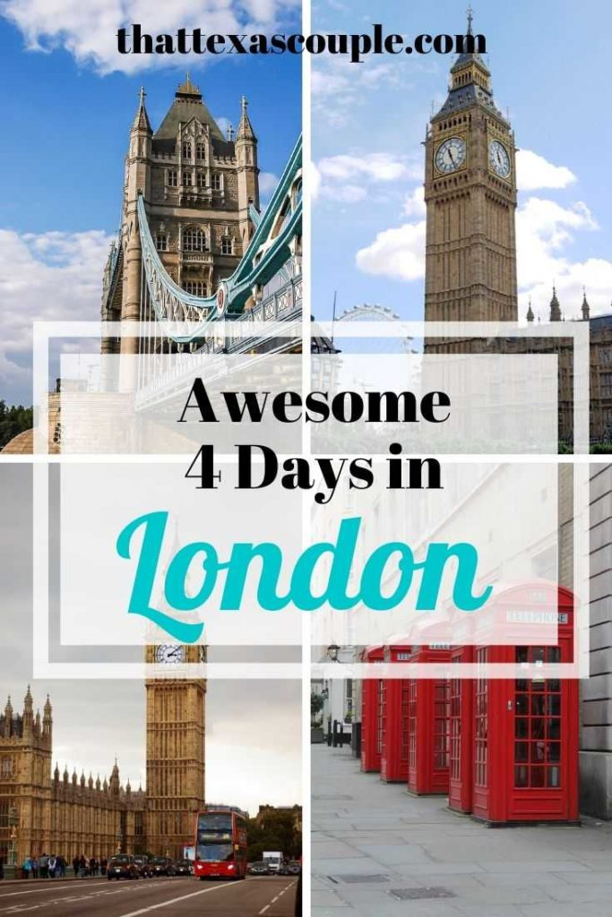 If you're planning a trip to London then look no further. We have you covered with this great London itinerary for 4 days in London. We've included everything you need to know. #londonitinerary #traveleurope #europe #traveltips #london