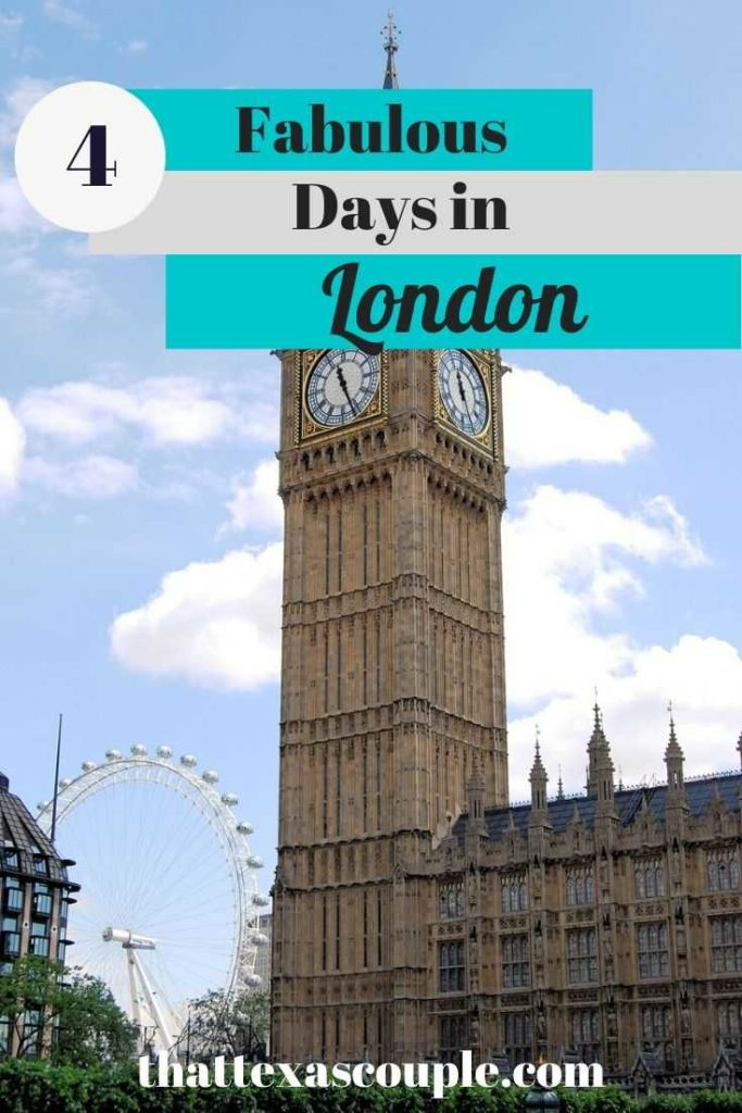 Are you planing a trip to London? Then look no further. This 4 day London itinerary has you covered seeing all the major sites and some suprpises. London Europe United Kingdom travel tips travel itinerary couples travel