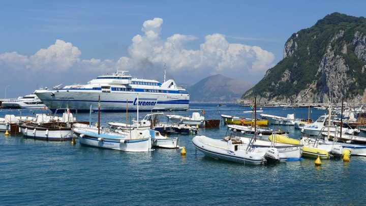 Taking the Naples to Capri Ferry:  All You Need to Know