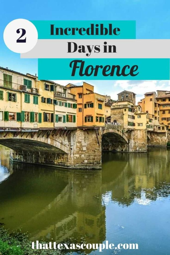 Planning to visit Florence? We've outlined our favorite things to do with only 2 days in Florence in this post. We've included churches, museums, and palaces for you to explore. Check it out! #florence #italy #traveltips #italyitinerary #itinerary #europe #couplestravel #italyitinerary