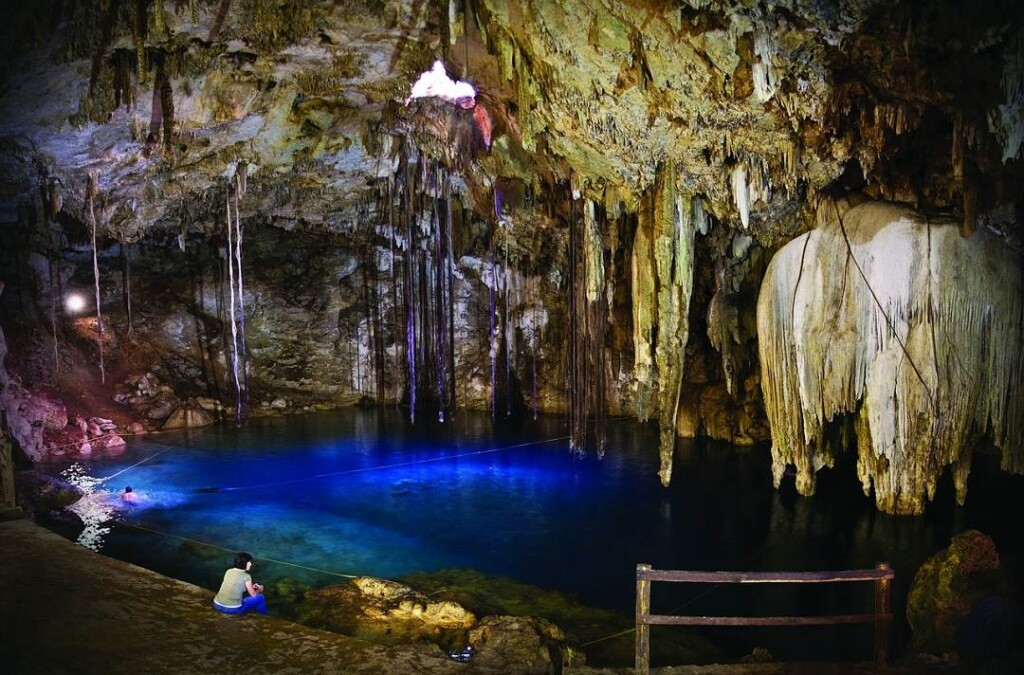 swimming in a cenote is one of the top things to do in Riviera Maya