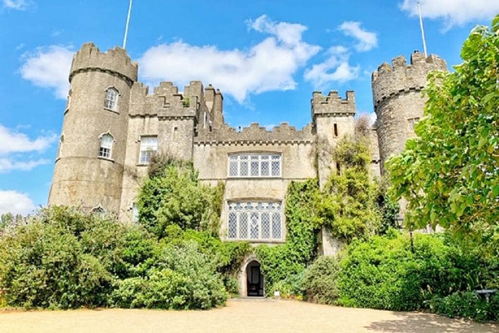 Malahide Castle is one of the best day trips from Dublin