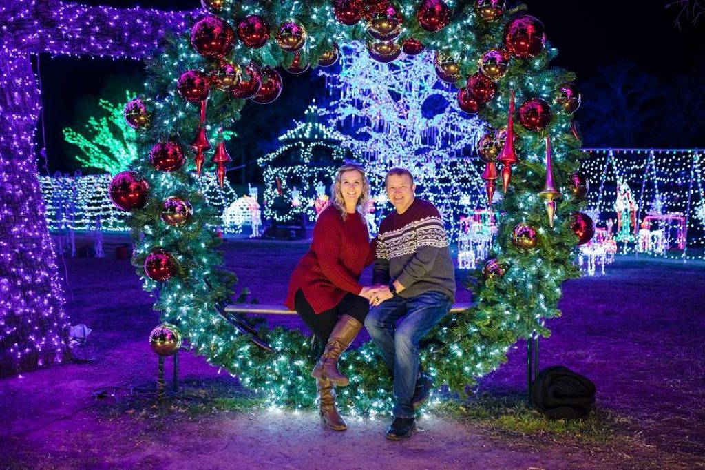 Christmas light displays -Christmas date ideas