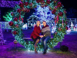 Christmas light displays -Christmas date ideas and couples bucket list