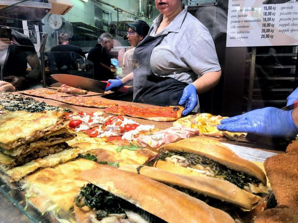 Food Tour in Rome-Pizza