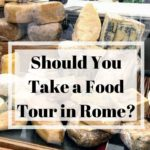 Are you considering taking a food tour in Rome? Then you should read this post, We took a food tour in Rome and want to share our experience with you. #rome #foodtour #foodie #italy
