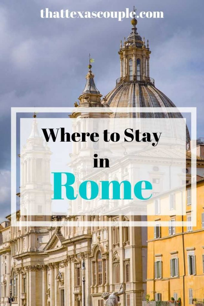 Finding where to stay in Rome can be hard. Don't worry though, we have you covered with the best places to stay in Rome right here! Rome|Italy|travel|Europe|Rome hotels|hotels in Rome|accommodations in Rome