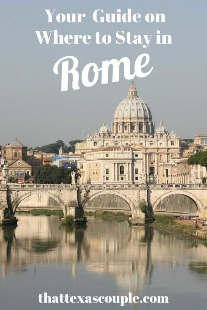Firguing out where to stay in Rome can be hard! We have you covered here with the best areas in Rome and the best places to stay in Rome! Rome|Italy travel|Europe|Rome hotels|accommodations in Rome