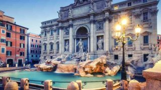 The Trevi Fountain-couples bucket list and where to stay in Rome