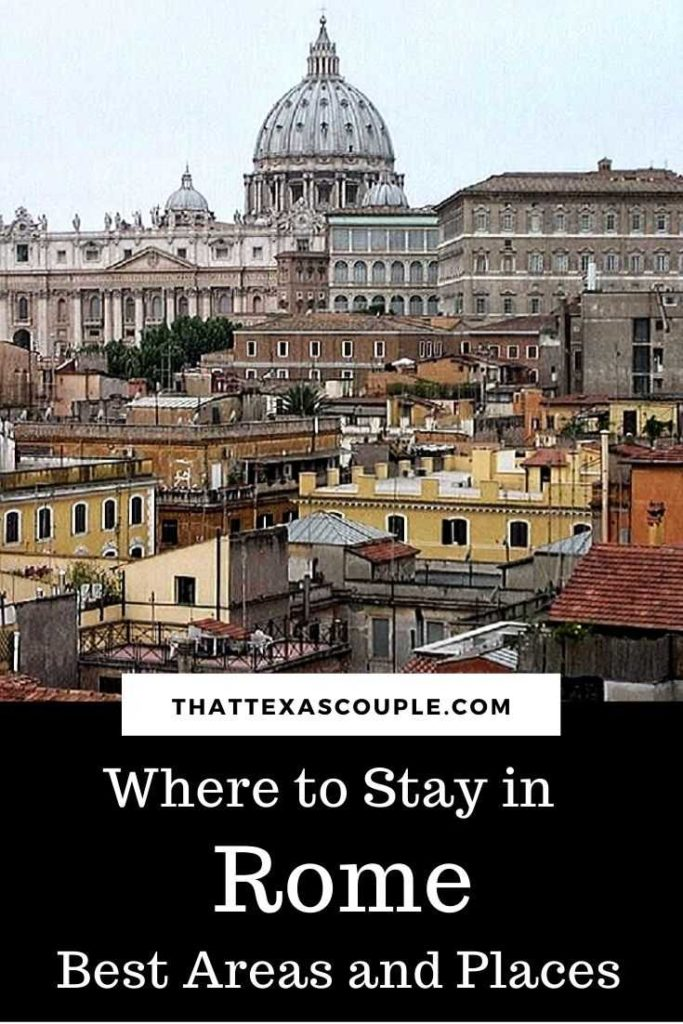 If you're wondering where to stay in Rome, then you need this post. We have you covered with all of the best places in Rome including neighborhoods and hotels. Rome|accommodations in Rome|Rome hotels|hotels in Rome|travel tips