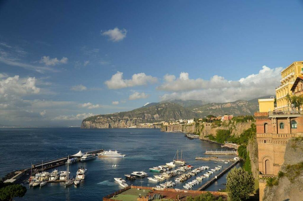 Sorrento to Capri ferry